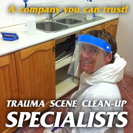Trauma scene clean-up specialists